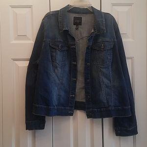 Jessica Simpson denim jacket 2X